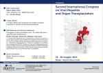 International Congress on Viral Hepatitis and Organ Transplantation