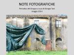 NOTE FOTOGRAFICHE