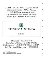 rassegna stampa del 07/12/2014 - Consorzio per le Autostrade