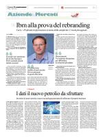 Ibm alla prova del rebranding - Corriere delle comunicazioni