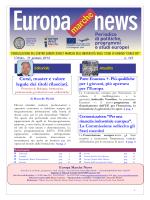 EUROPA NEWS n.143 del 31 / 01 / 2014
