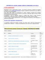 offerte 2.10.2014 - Informagiovani Recanati