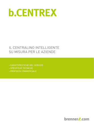 Brochure b.CENTREX