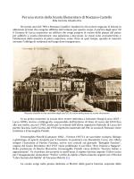 Per una storia della Scuola Elementare di Nozzano Castello