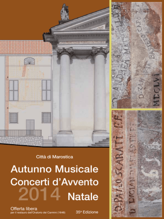brochure autunno musicale 2014