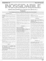 Summary - Centro Inox