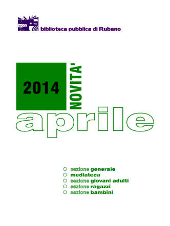 aprile 2014 - Comune di Rubano