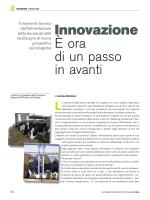 Innovazione È ora di un passo in avanti