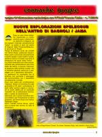 cronache ipogee - FSR-FVG e La Gazzetta dello speleologo
