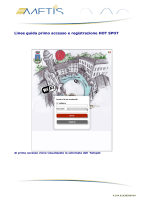 Linee guida primo accesso e registrazione HOT SPOT