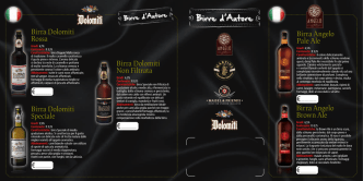 Birra Angelo Pale Ale Birra Angelo Brown Ale Birra Dolomiti Rossa