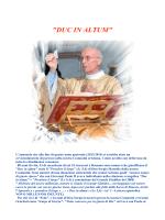"""""""DUC IN ALTUM"""" - Parrocchia di Rossano Veneto"""