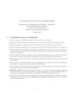 Curriculum Vitae di Luca Bergamaschi