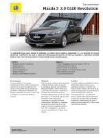 Mazda 3 2.0 G120 Revolution