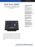 Extron - TLP Pro 720T