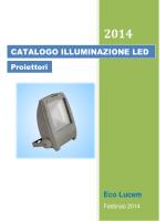 CATALOGO ILLUMINAZIONE LED