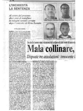 25.10.08 MALA VOMERO 2 CRONACHE