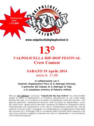 3° VALPOLICELLA HIP HOP FESTIVAL