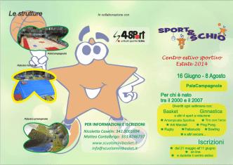 Centro estivo sportivo Estate 2014