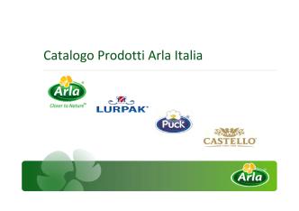 Arla Foods srl - AGENZIA BUONFANTINO
