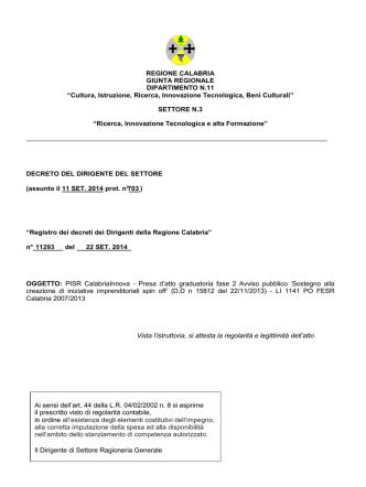decreto_11293_2014 - Regione Calabria