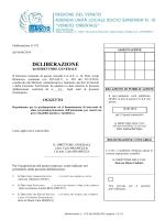 DDG ULSS 10 n. 472/2014 - Gazzetta Amministrativa
