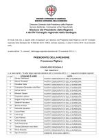 Elezione del Presidente della Regione e del XV Consiglio regionale