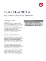 Brake Fluid DOT 4 - Texaco Lubrificanti