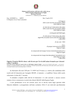 1 Oggetto: Progetto SBAM - Ufficio Scolastico Regionale per la Puglia