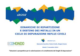 Cecchini - Ecomondo