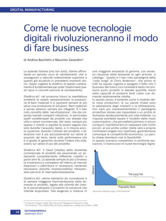 Come le nuove tecnologie digitali rivoluzioneranno