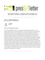 SCARICA LA PRESSTLETTER n. 13 – 2014