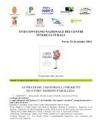 Programma - Cooperativa Sociale Progetto Con