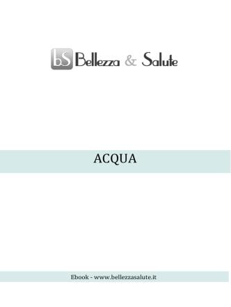 Acqua - Bellezza Salute
