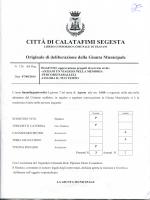 CITTA DI CALATAFIMI SEGESTA - Comune di Calatafimi Segesta