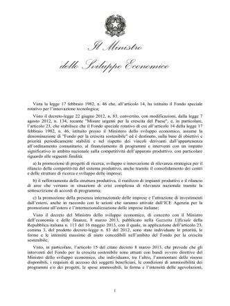 Agenda digitale - Governo Italiano