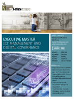 EXECUTIVE MASTER ICT MANAGEMENT AND