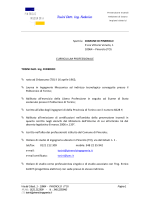 PINEROLO INGEGNERIA Tosini Dott. Ing. Federico