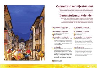 calendario completo - Mercatino di Natale Bolzano
