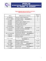 calendario piano attività annuali 2014