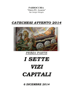 I SETTE VIZI CAPITALI - Parrocchia Maria SS. Assunta