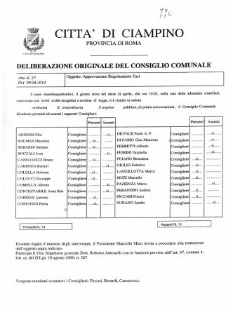 CC-2014-27 reg tasi e successive