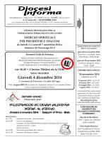 Novembre 2014 - Diocesi di Aosta