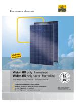 Vision 60 polyframeless Vision 60 poly black - Solar