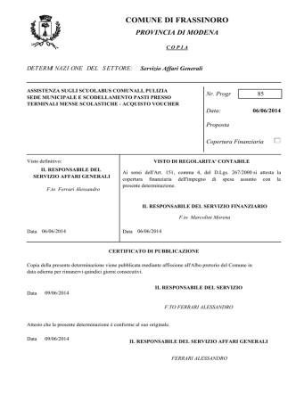 ATTO PDF - Comune di Frassinoro