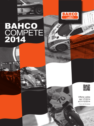 BAHCO COMPETE 2014