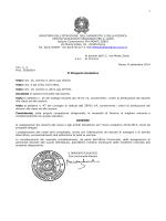 A.S. 2014/15 - Assegnazione dei Docenti alle Classi
