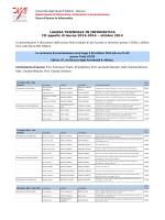 Università degli Studi di Milano - Bicocca Dipartimento di