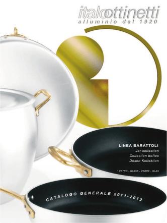 Barattoli vetro - Metallurgica Italo Ottinetti