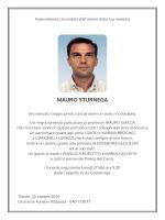 MAURO STURNEGA - annunci funebri